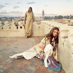 Paul and Talitha Getty, Marrakech, Morocco, January, 1969
