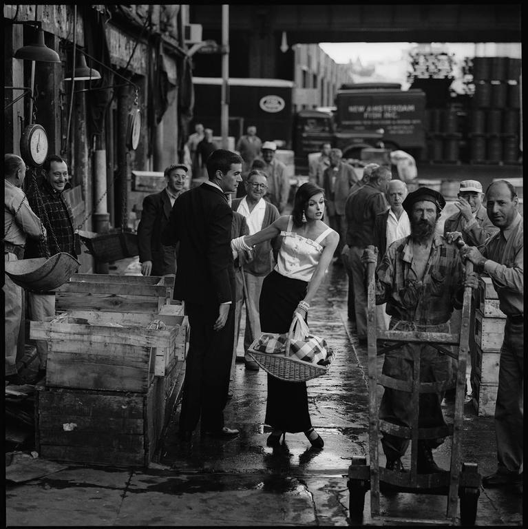 Fish Market, 1958