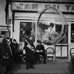 Bar du Baguette, Paris, 1963 - Melvin Sokolsky (Black and White Photography)