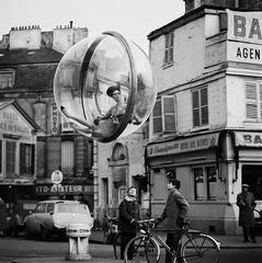 Bicycle Street, Paris, 1963