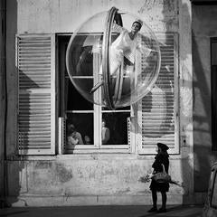 Flower Girl, Paris, 1963