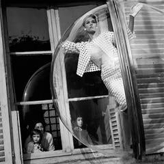 Faces in Window, Paris, 1963