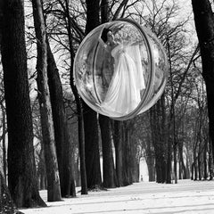 In Trees, Paris, 1963 - Melvin Sokolsky (Black and White Photography)