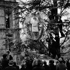 School Yard Tree, Paris, 1963 - Melvin Sokolsky (Black and White Photography)
