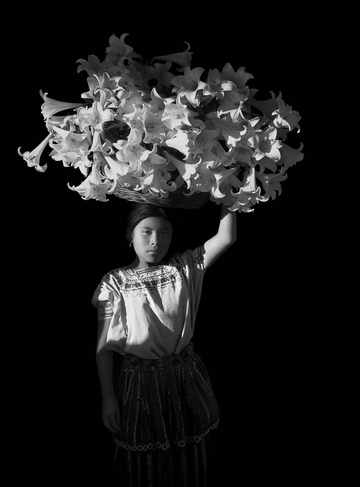 Canasta de Luz, Guatemala - Flor Garduño (Black and White Photography)