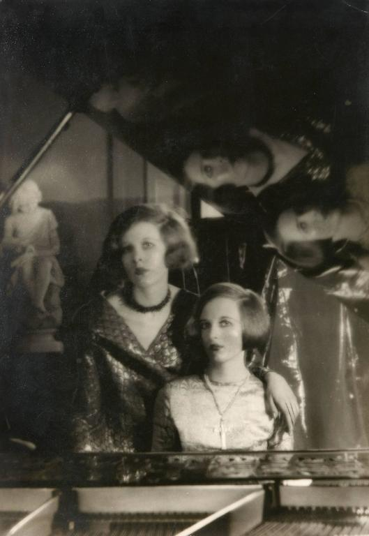 Cecil Beaton Black and White Photograph - Baba and Nancy Beaton, circa 1926