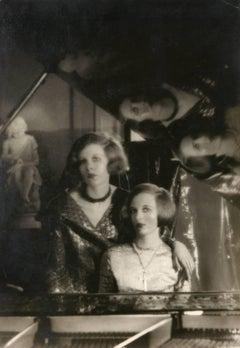 Baba and Nancy Beaton, circa 1926