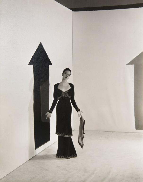 Cecil Beaton Black and White Photograph - Ruth Ford, Paris, 1936