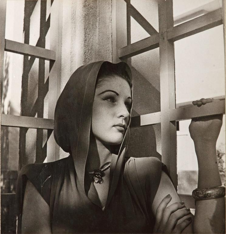 Cecil Beaton Black and White Photograph - Queen Fawziah of Iran, 1942