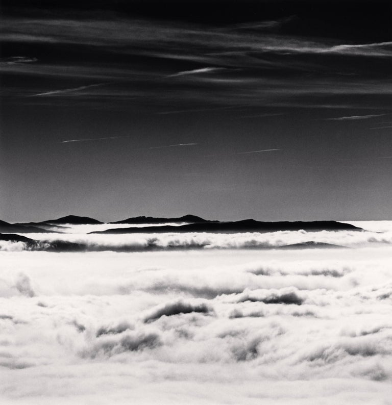 Michael Kenna Black and White Photograph - Above the Clouds, Campo Imperatore, Abruzzo, Italy, 2015 - Landscape Photography