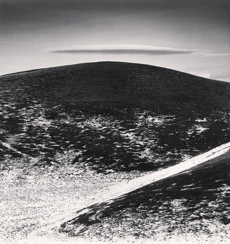 Michael Kenna Black and White Photograph - Thin Cloud, Campo Imperatore, Abruzzo, Italy
