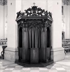 Confessional, Study 35, Basilica Della Beata Vergine della Ghiara, Reggio Emilia