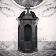 Confessional, Study 3, Chiesa di Sant'Andrea, Gualtieri, Reggio Emilia