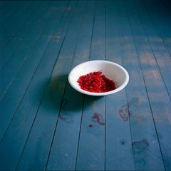 Bowl of Cherries, Rockport, Maine, 2007 - Cig Harvey (Colour Photography)