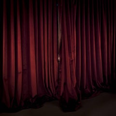 Red Curtains, Location, Maine, 2017