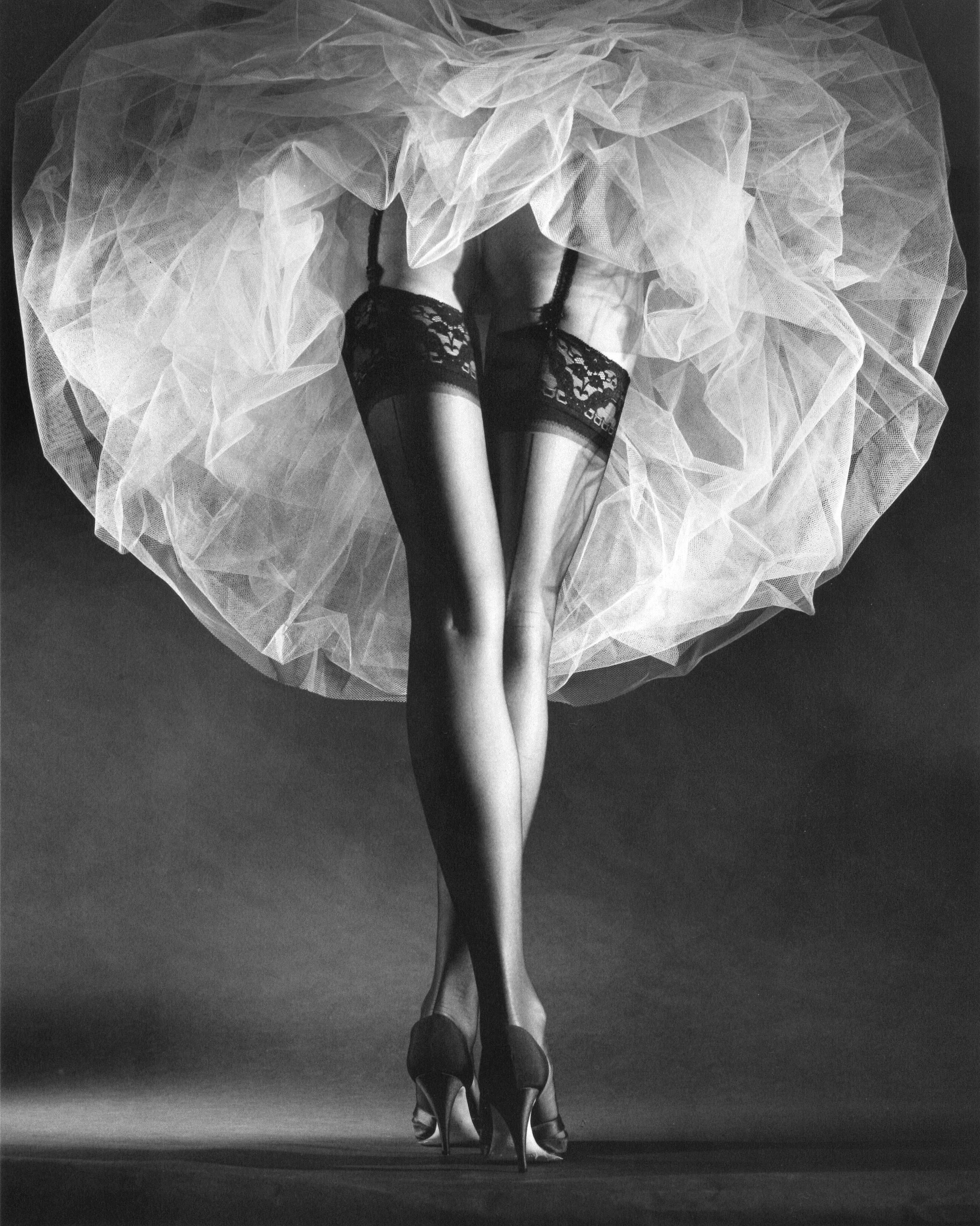 Round The Clock I, New York - Horst P. Horst (Black and White Photography)