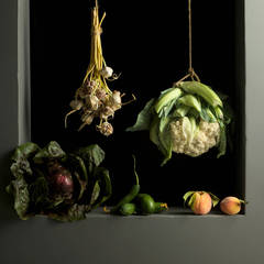 Cauliflower and Peaches