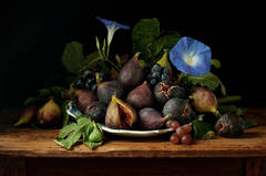 Figs and Morning Glories, After GG