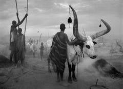 DINKA CATTLE CAMP OF KEI, SOUTHERN SUDAN, 2006