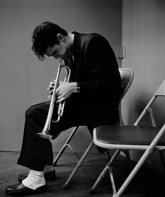 Chet Baker, 1953 - Cultural History, Black and White Photography, Jazz