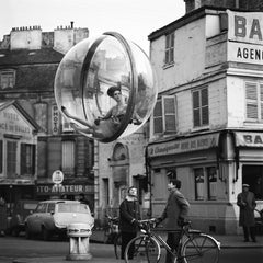 Bicycle Street - Melvin Sokolsky (Black and White Photography)