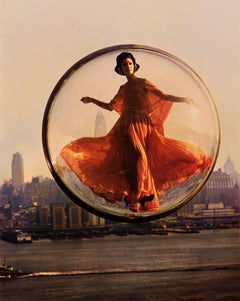 Over New York - Melvin Sokolsky (Colour Photography)