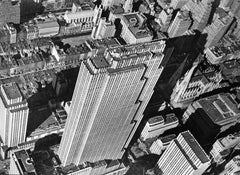 Aerial View of the Rockefeller Center, 1939