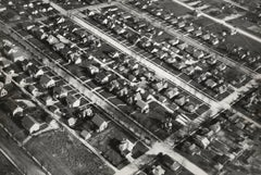 Aerial View of Single Family Houses, Muncie, In