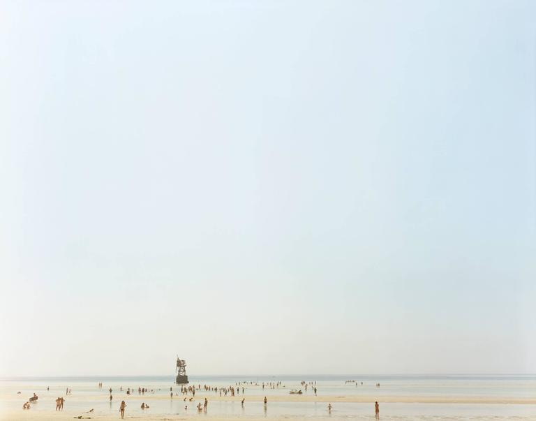 Joel Meyerowitz Color Photograph - Cold Storage Beach Truro 1976 : cold storage beach  - Aquiesqueretaro.Com