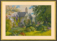 Beatrice Emma Parsons - Signed English 20th Century Watercolour, Garden View