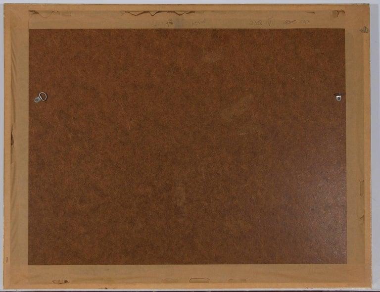 John Seerey-Lester (b.1945) - Signed & Framed British 1979 Pastel, Lions For Sale 1