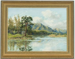 Arthur Victor Coverley-Price (1901-1988) - 1953 Signed Scottish Oil, Loch Affric