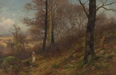 Josiah Clinton Jones - Late 19th Century Signed English Oil, Woodland Landscape