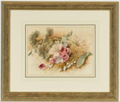 Mary Elizabeth Duffield RI - Signed English  Watercolour, Floral Study