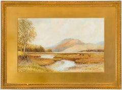 Walter William May - Signed 19th Century Scottish Watercolour Highland Landscape