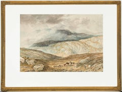 Attributed to Alfred H. Green - 19th Century Watercolour, Scottish Highlands