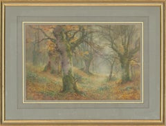 Thomas Tayler Ireland (c.1880-1927) - Signed English Watercolour, Forest Path