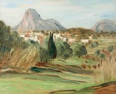 Talia Wescott Malcolm (c.1888) - 20th Century Signed Oil, Landscape