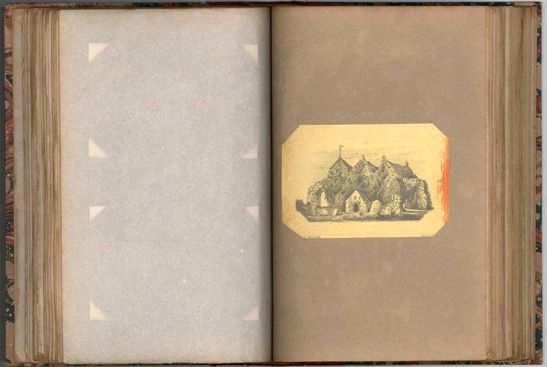 Maria Colsen - circa 1824 Georgian English Album, Views of Hastings - Victorian Art by Maria Colsen