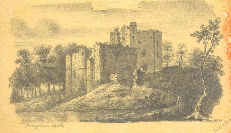 Maria Colsen - circa 1824 Georgian English Album, Views of Hastings For Sale 1