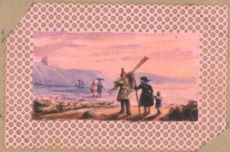 Maria Colsen - circa 1824 Georgian English Album, Views of Hastings For Sale 2