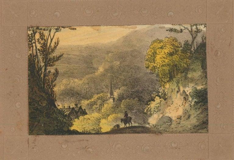 Maria Colsen - circa 1824 Georgian English Album, Views of Hastings For Sale 3