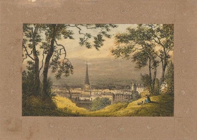 Maria Colsen - circa 1824 Georgian English Album, Views of Hastings For Sale 4