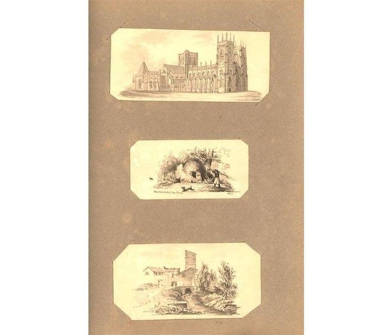 Maria Colsen - circa 1824 Georgian English Album, Views of Hastings For Sale 6