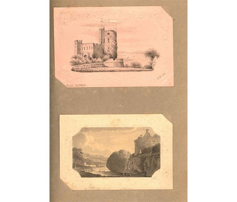 Maria Colsen - circa 1824 Georgian English Album, Views of Hastings For Sale 8