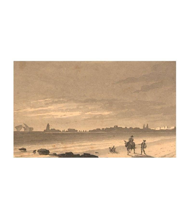 Maria Colsen - circa 1824 Georgian English Album, Views of Hastings For Sale 12