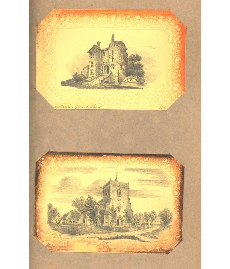 Maria Colsen - circa 1824 Georgian English Album, Views of Hastings For Sale 10