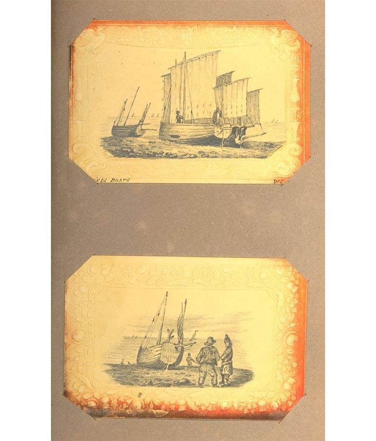 Maria Colsen - circa 1824 Georgian English Album, Views of Hastings For Sale 11