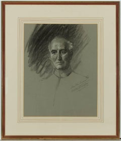 Frank Owen Salisbury - Signed 1935 English Charcoal Portrait, Sir John Simon
