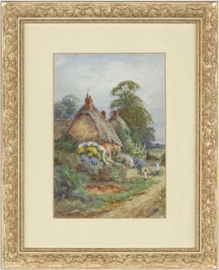 Alexander Molyneux Stannard - Signed 20th Century English Watercolour, Cottage